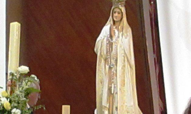 Célébration en l'honneur de Notre Dame de Fatima, 16 mai
