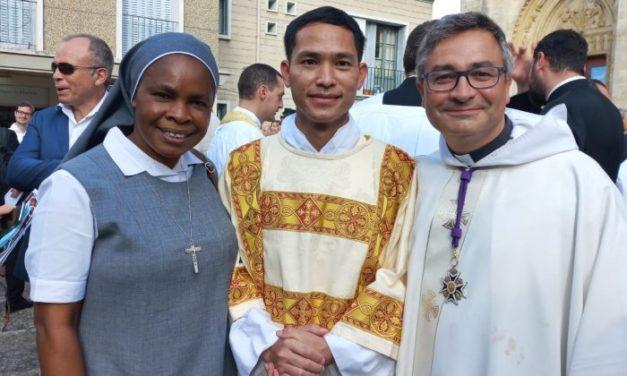 Ordination diaconale de Paul Dang
