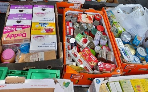 Collecte alimentaire pour l'Arbre à Pain, 23 octobre